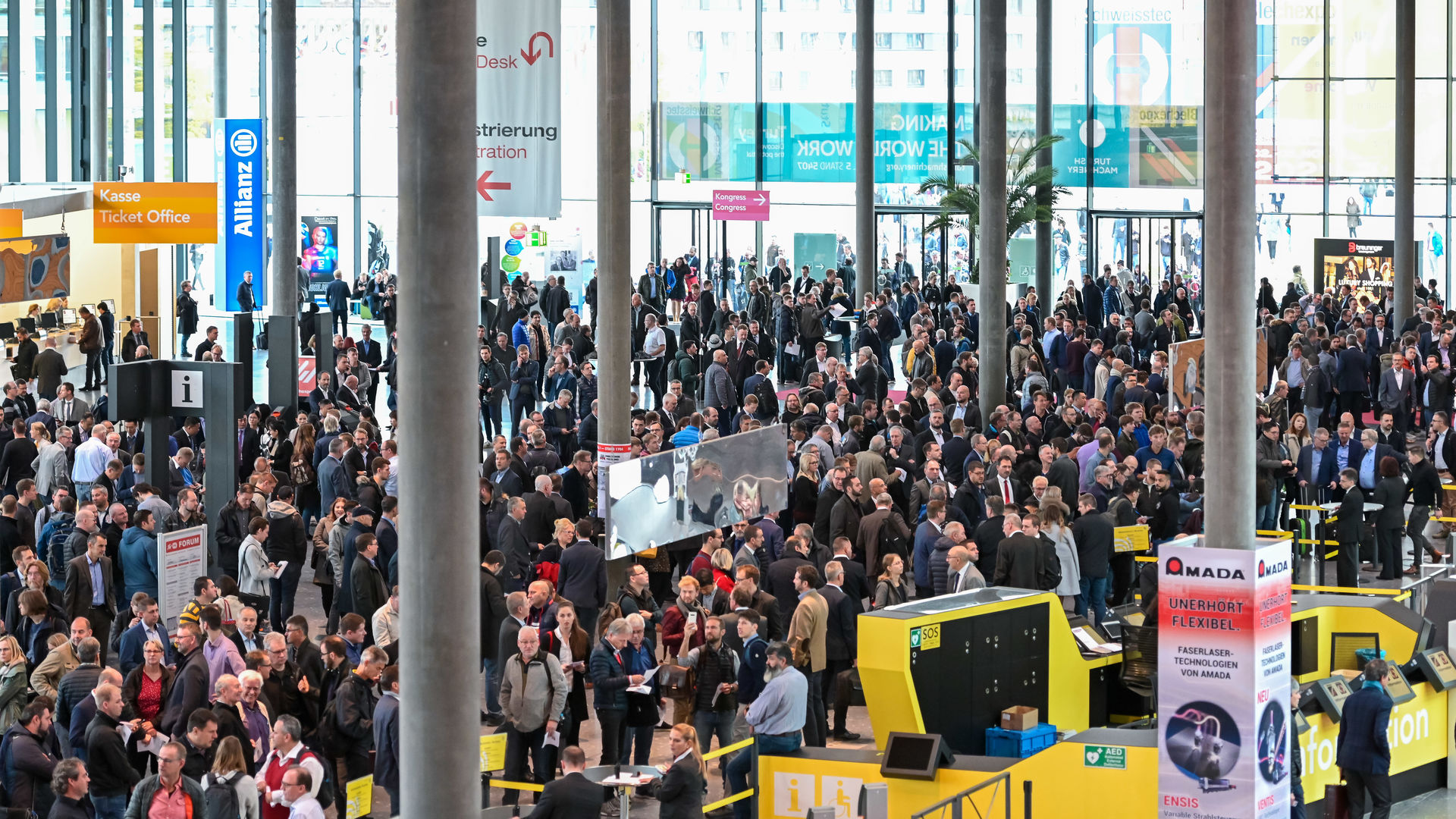 Blechexpo/Schweisstec 2019 with Record-Breaking Dimensions
